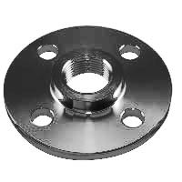 ASME SA105 Carbon Steel Threaded / Screwed Flange