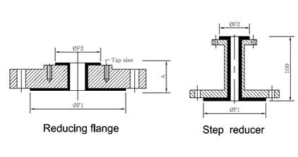 Reducing Flange Dimensions